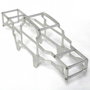 Rcsolutions Axial Scorpion Roll Cage Silver rcs141