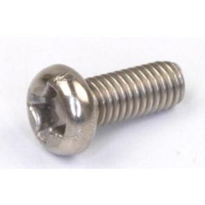 Rdlogics Titanium Round Head Screw 3 x 8mm (10) 30308