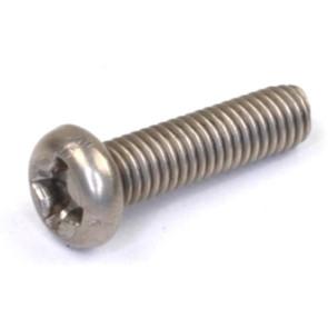 Rdlogics Titanium Round Head Screw 3 x 12mm (10) 30312