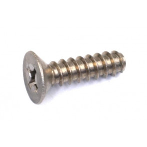 Rdlogics Titanium Flat Head Tapping Screw 4 x 15 mm (6) 32415T