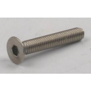 Rdlogics Titanium Hex Socket Flat Head Screw 3 x 18mm (8) 33318F