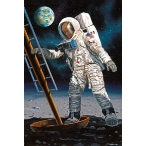 Revell 1/8 Astronaut on the Moon 03702