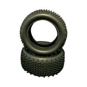 River Hobby 1/10 buggy Rear Tyre set with foam inserts (2pc) 10308