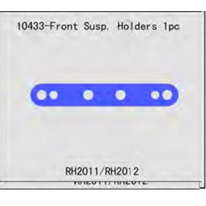 River Hobby Front Susp, Holder 2pcs 10433
