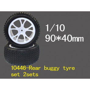 River hobby 1/10 2wd buggy front wheels set 10446