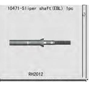 River Hobby Slipper Shaft (EBL) 10471