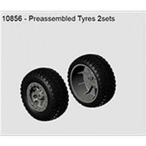 River Hobby Wheels And Tyres (2pc) Blast 2.0 10856