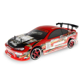 River Hobby 1/10 Painted Body Drift Car Red 12363r