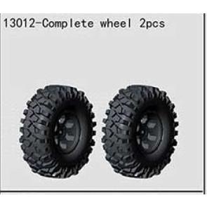 River Hobby Mc28 Complete Wheel 2Pcs 13012