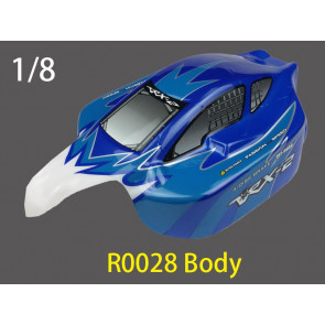 River Hobby 1/8 BUGGY Painted BODY (BLUE) r0028