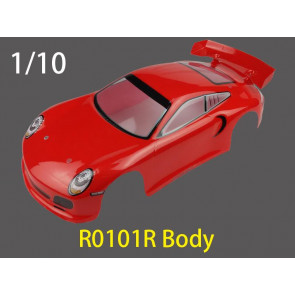 River Hobby 1/10 Touring Body (Red) r0101r