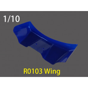 River Hobby 1/10 Wing (Blue) 1pc r0103