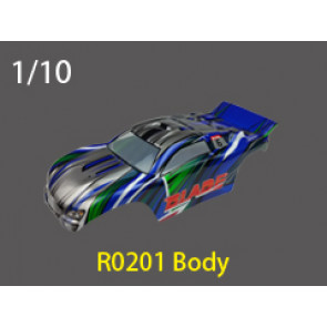 River Hobby 1/10 Truck Body Blue (New) Suit 1011/13 r0201