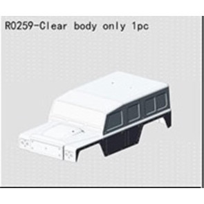 River Hobby BF-4J Clear Body r0259