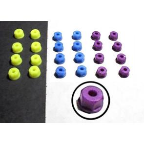 RPM Nylon Nuts 4mm Purple (8) 70848