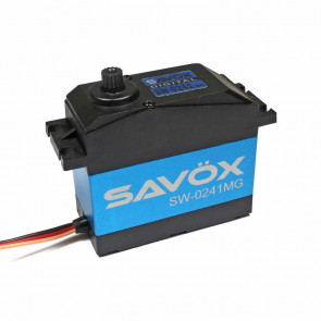 Savox 1/5 Waterproof Water Proof Servo 40KG 7.4v Metal Gear sw0241mg