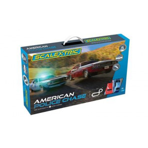 Scalextric 1/32 American Police Chase Set c1405