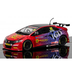 Scalextric 1/32 BTCC Honda Civic Type R Jeff Smith c3860
