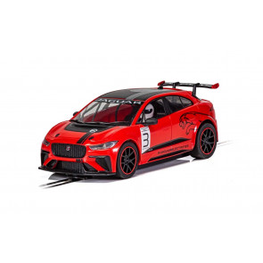 Scalextric 1/32 Jaguar I-Pace - Red c4042