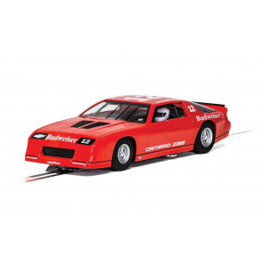 Scalextric 1/32 Chevrolet Camaro IROC-Z Red Slot Car c4073