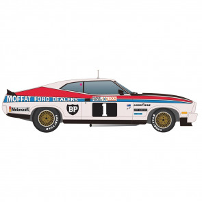 Scalextric 1/32 Ford XC Falcon Coupe 1977 Bathurst Winner Slot Car c4197