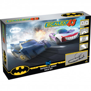 Scalex43 1/43 Batman vs Joker Slot Car Set f1003