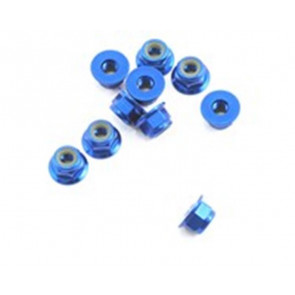 Associated Factory Team Locknut 4mm Blue (10) 25391
