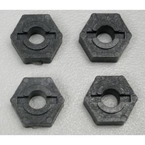 Associated Wheel Hex Adapters TC3 (4) 3950