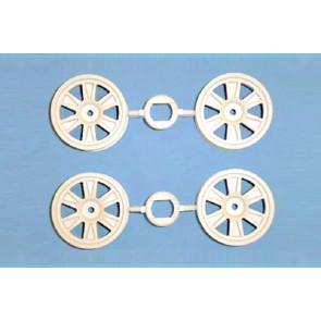 Tamiya 12-Spoke Wheels 4Pcs 24Mm +2 51299