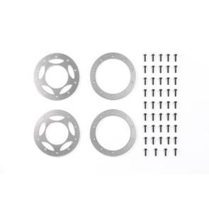 Tamiya Aluminum Beadlock Ring Cr01 (2) 54086