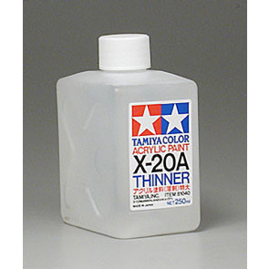 Tamiya Acrylic Mini X-20A Paint Thinners 250ml 81040