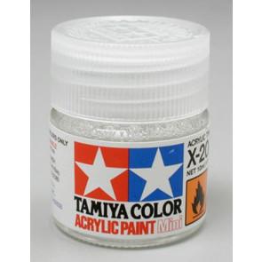 Tamiya Acrylic Mini X-20A Paint Thinners 10ml 81520