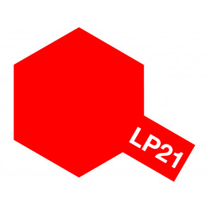 Tamiya Lacquer LP-21 Italian Red Paint 10ml 82121