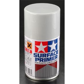 Tamiya Spray Surface Primer/Plastic Metal 3 oz 87026