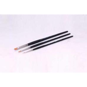 Tamiya Modeling Brush High Finish Standard Set (3) 87067