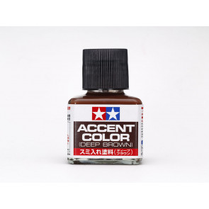 Tamiya Panel Accent Color Dark Red Brown 40ml 87210