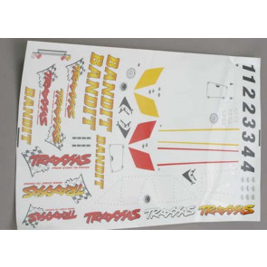 Traxxas Decal Sheet Bandit 2413