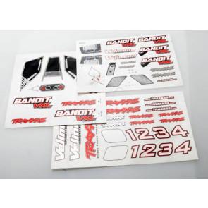 Traxxas Decal Sheets Bandit VXL 2413r