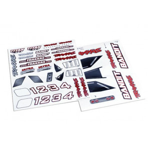 Traxxas Decal Sheet Bandit 2413x