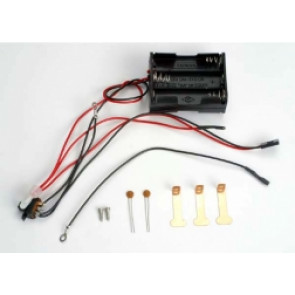 Traxxas Battery Holder 6-Cell WIth Switch /RTS Wire 3590