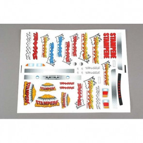 Traxxas Decal Sheet Stampede 3613