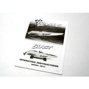 Traxxas Blast model 3810 Boat Operation Manual 3899