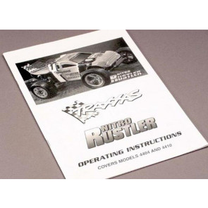 Traxxas Instruction Manual Stampede 4499