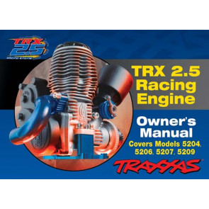 Traxxas Manual 2.5 Nitro Engine 5299