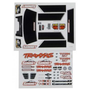 Traxxas Decal Sheet Summit 5615