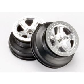 Traxxas SCT Wheels 2.2/3.0 Statin Chrome Dual Profile (2WD Front) (2pc) 5870