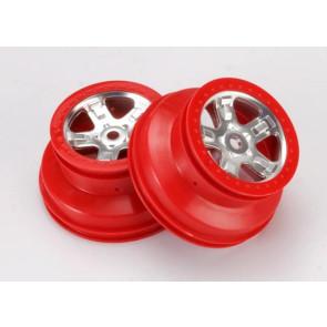 Traxxas Red Beadlock Wheels Slayer 5972A