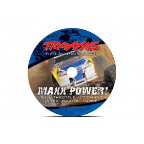 Traxxas DVD Maxx Power! Full Throttle Action 2006 6160X