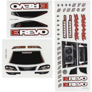Traxxas Decal Sheets 1/16 E-Revo 7114