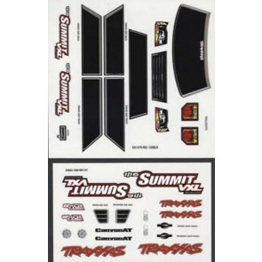 Traxxas Decal Sheets 1/16 Summit VXL 7213
